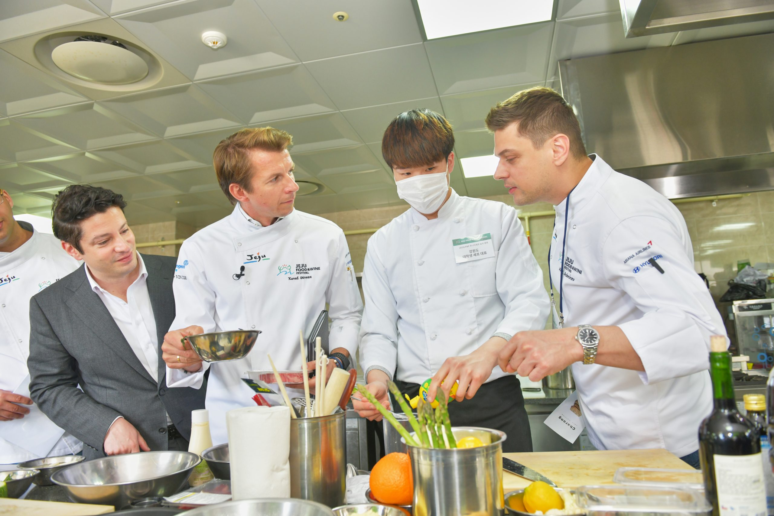 Student Chef Coached by Karol Okrasa Chef of Poland and Mikael Ashminov of Bulgaria